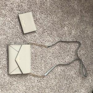 Kate spade crossbody bag and matching wallet